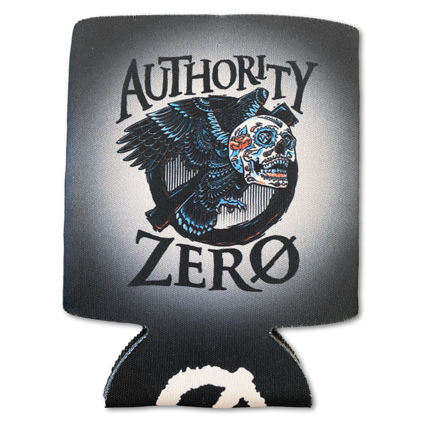 Authority Zero - Candy Skull Collapsible Foam Can Cooler
