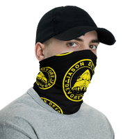 Jason DeVore - DeVore Core Yellow Shark Logo Neck gaiter