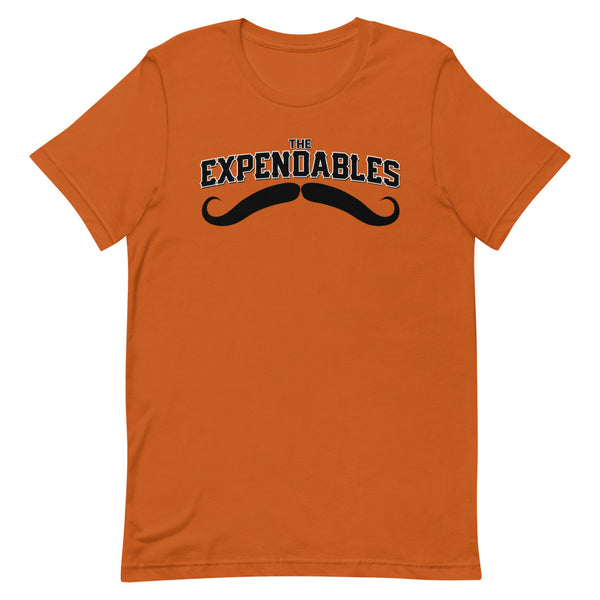 The Expendables - Giant Mustache Short-Sleeve Unisex T-Shirt