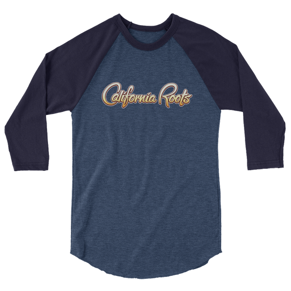 California Roots - 3/4 sleeve raglan shirt