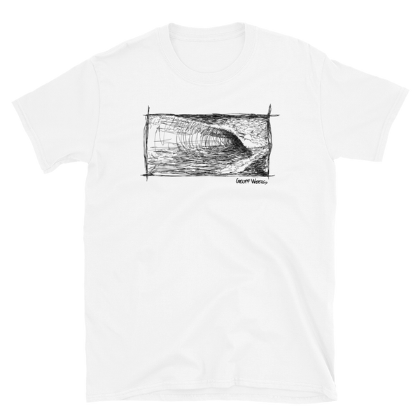 Geoff Weers - Waves Light Short-Sleeve Unisex T-Shirt