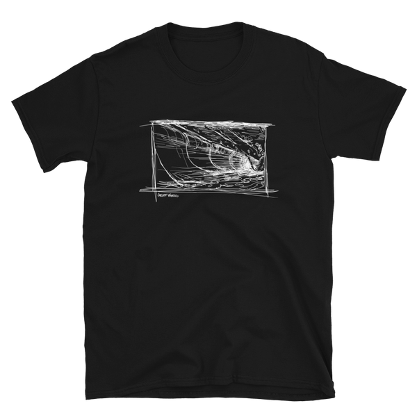 Geoff Weers - Wave Dark Short-Sleeve Unisex T-Shirt