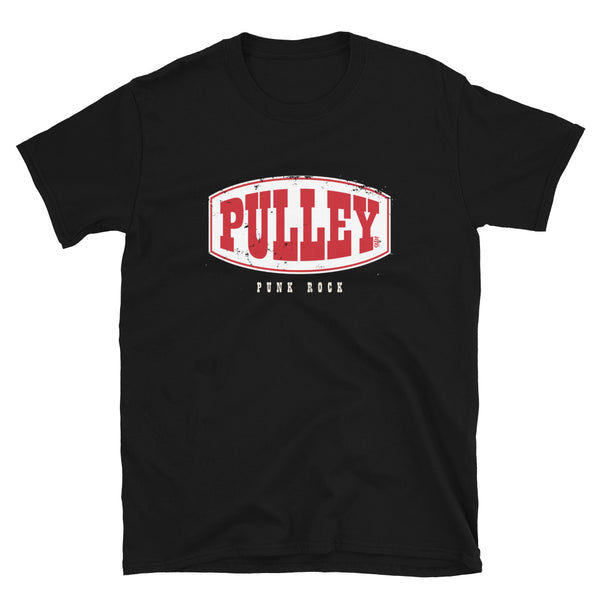 Pulley - Distressed Logo Short-Sleeve Unisex T-Shirt