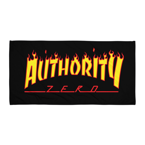 Authority Zero - Skate Flame Towel