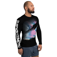 The Expendables - Surfman Cometh All Black Men's Rash Guard