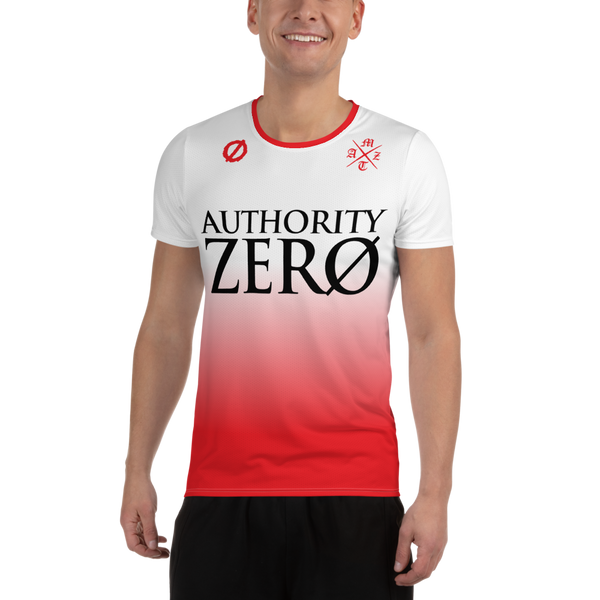 Authority Zero - White/Red Soccer Jersey
