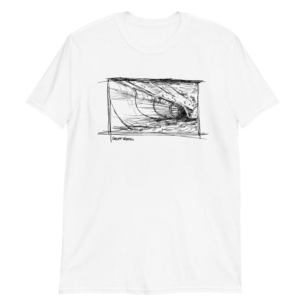 Geoff Weers - Wave Light Short-Sleeve Unisex T-Shirt