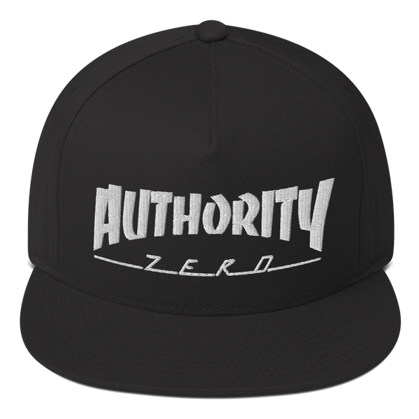 Authority Zero - Skate Flat Bill Cap