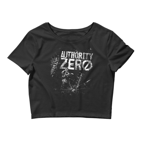 Authority Zero - Stories of Survival Women's Crop Tee