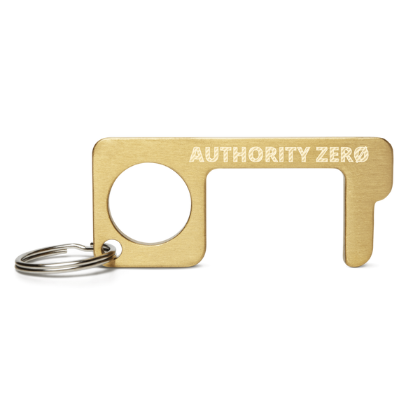 Authority Zero - Engraved Brass Touch Tool