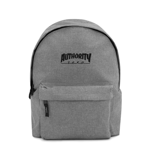 Authority Zero - Embroidered Backpack