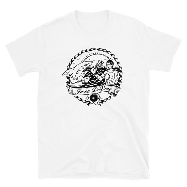 Jason DeVore - Shark Light Short-Sleeve Unisex T-Shirt