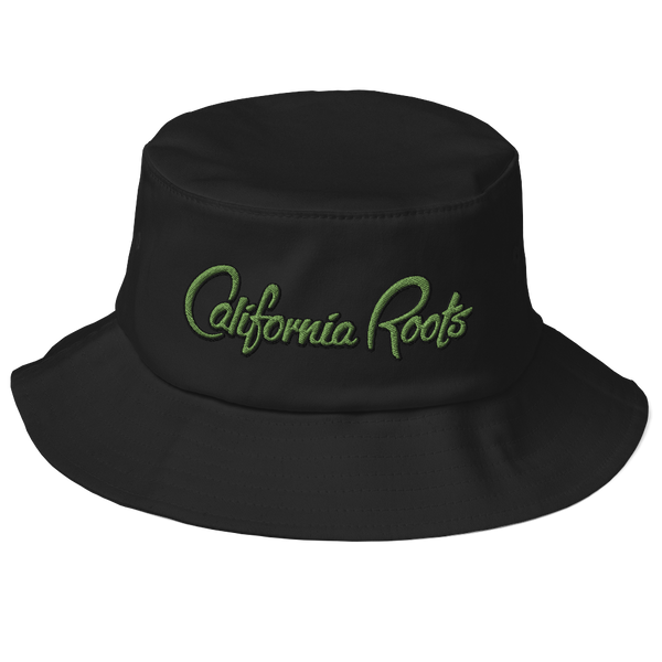California Roots - Old School Bucket Hat