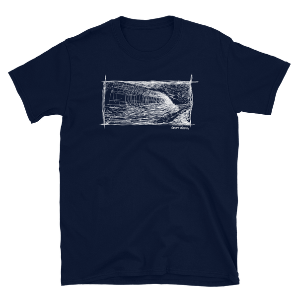Geoff Weers - Waves Dark Short-Sleeve Unisex T-Shirt