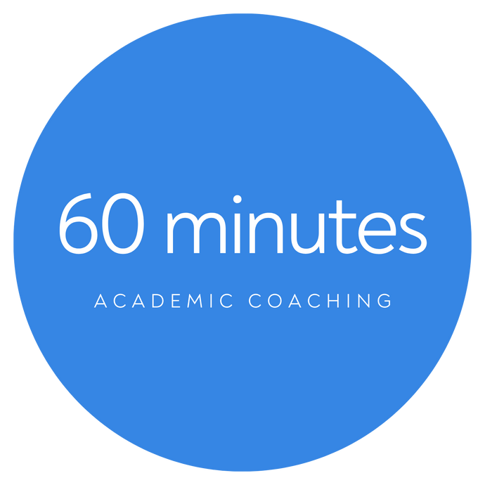 Individual Academic Coaching - 60 minute session