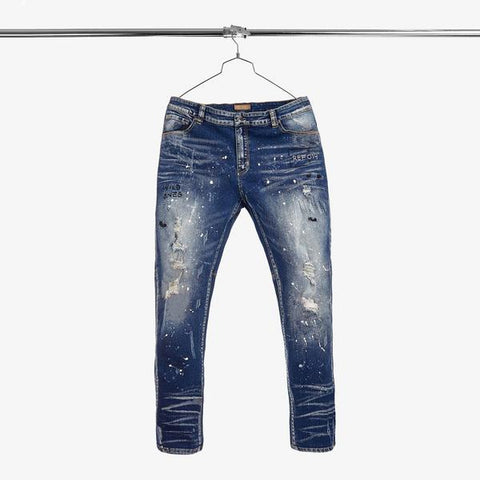 Iro Ochi Washi Denim Blue Jeans
