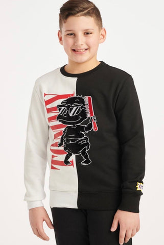 Cool Tommy Crewneck Sweater