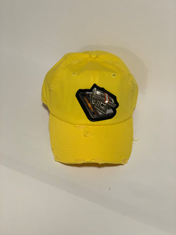 Money Scale Dad Hat (Yellow)