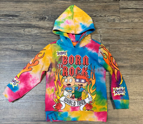 Kids Rugrats Born To Rock Hoody