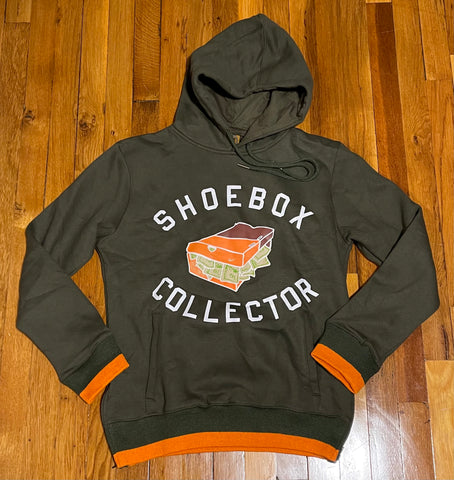 Vault Olive/Orange ShoeBox Collector Hoody