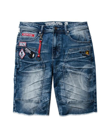 DreamLand Stuntin Denim Shorts