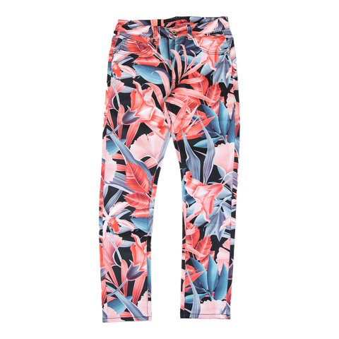 Vie Riche Amazon Floral Denim Pants