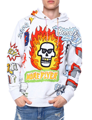 Born Fly Ornate Hoody