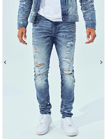 Jordan Craig Parisian Denim (Blue)