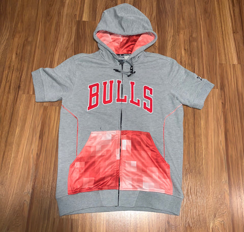 Zipway Chicago Bulls Short Sleeve Hoody