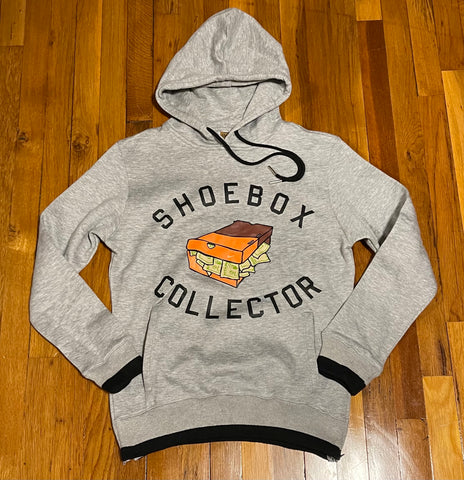Vault Grey/Black ShoeBox Collector Hoody