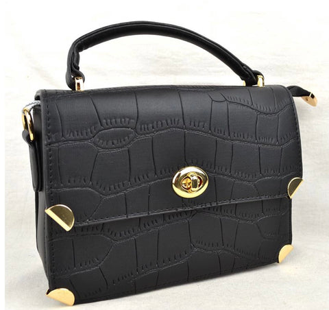 Casual Women's Shoulder Bag (Black)