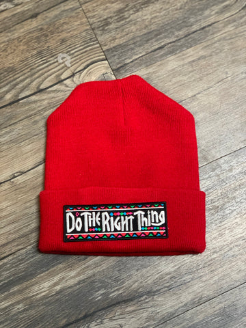 Red Do The Right Thing Skully