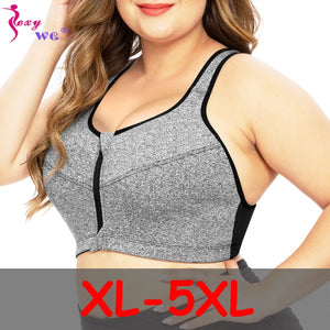 Plus Size Sports Bra XL-5XL