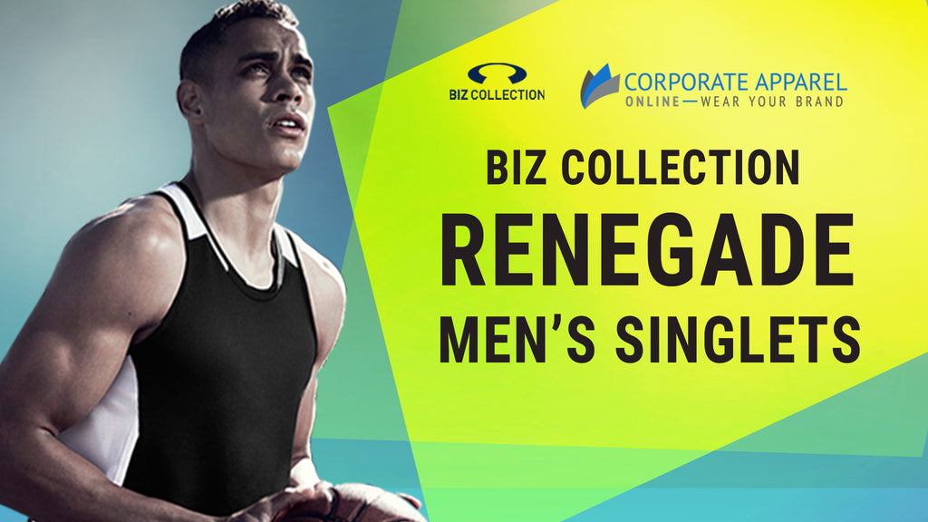 Biz Collection Renegade Men's Singlet at Corporate Apparel Online