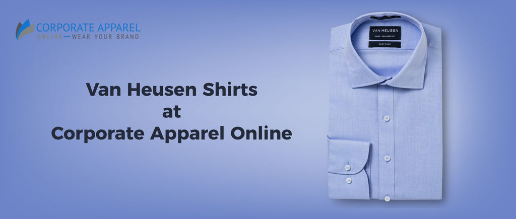 Van Heusen Shirts at Corporate Apparel Online