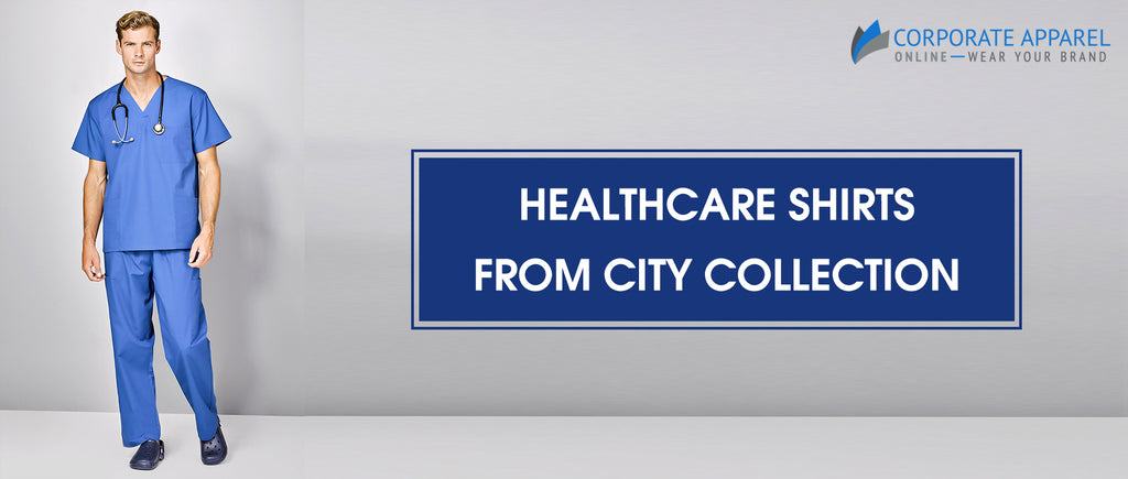 Doctors protection : Healthcare Shirts from City Collection now at Corporate Apparel Online