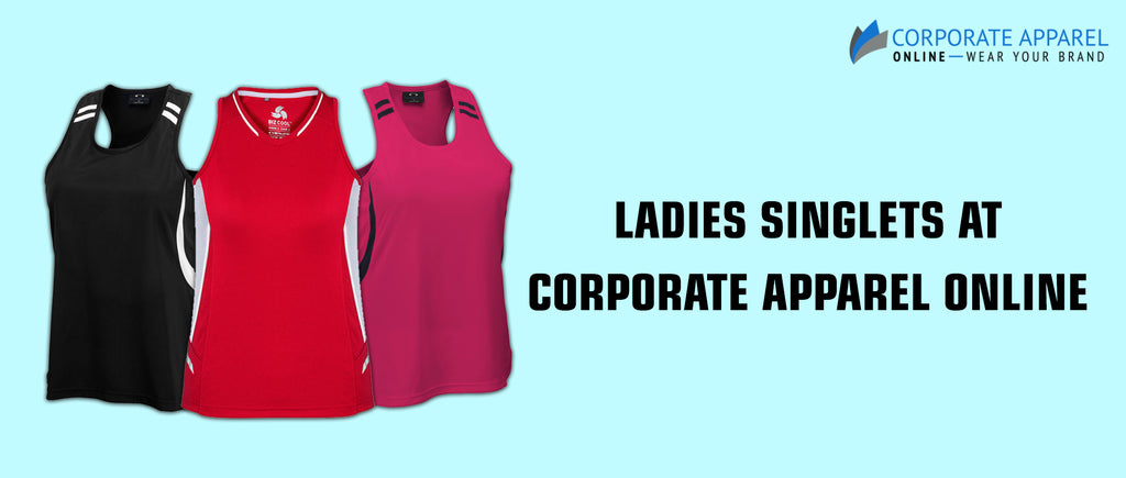 Ladies Singlets at Corporate Apparel Online