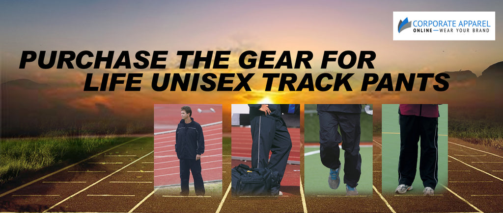 Purchase the Gear for Life Unisex Track Pants