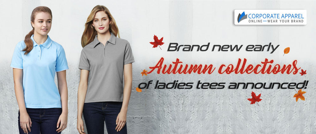 Brand new early autumn collections of ladies tees announced!