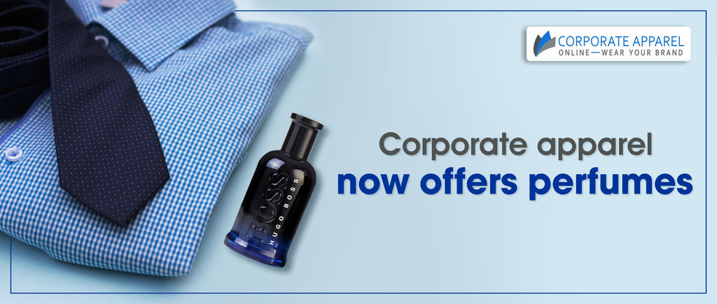 Corporate apparel now offers perfumes!!