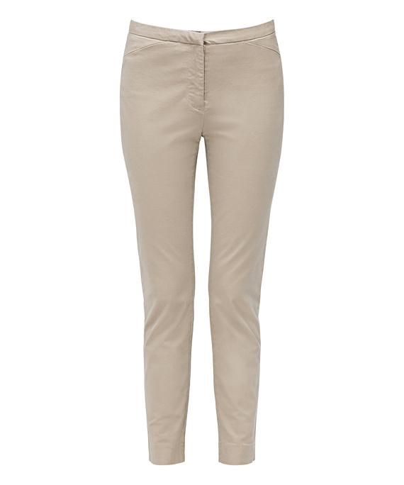 Van Heusen Women'S Cotton Stretch Casual Chino Pant (VSWP522)