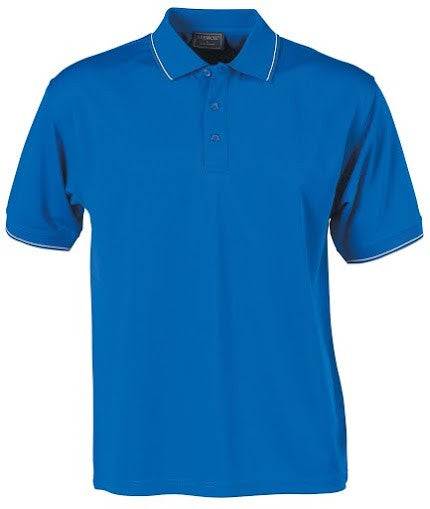 Stencil-Stencil Men's Lightweight C/D Polo-Royal blue/White/Navy / S-Corporate Apparel Online - 4