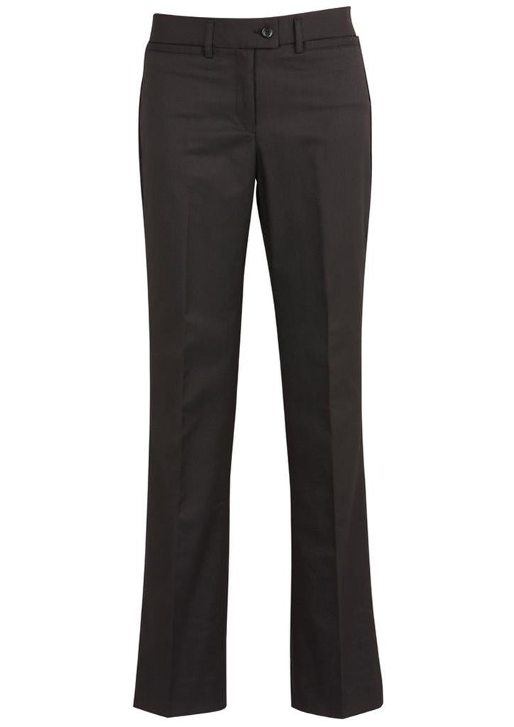 Biz Corporates-Biz Corporates Relaxed Fit Pant - Straight Leg-Charcoal / 4-Corporate Apparel Online - 4