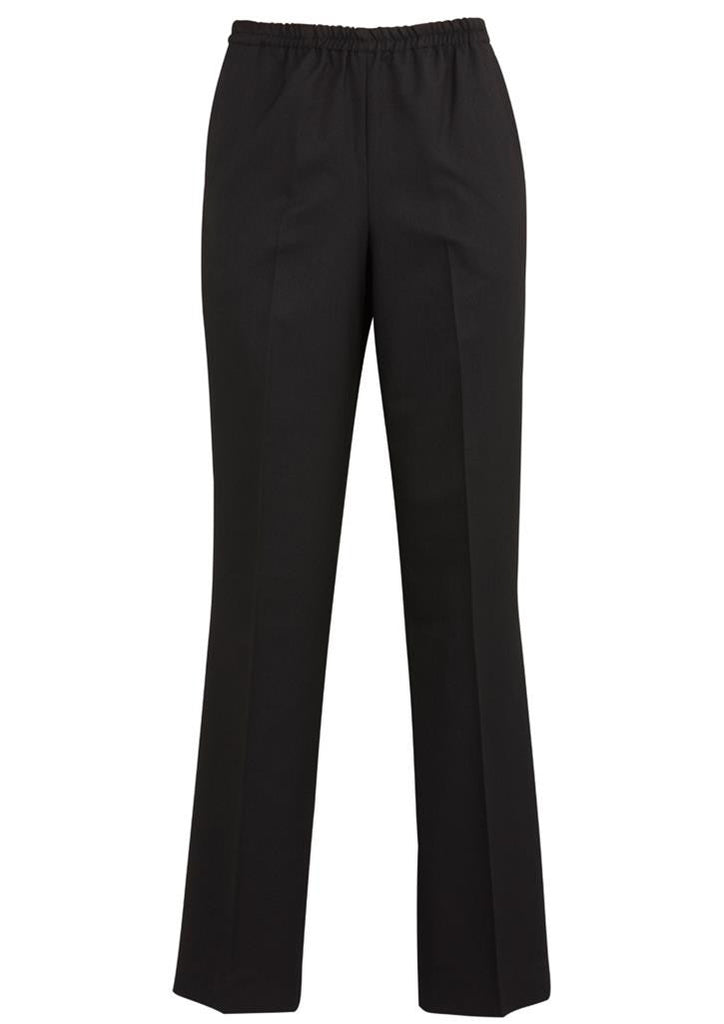 Biz Corporates-Biz Corporates Easy Fit Waist Pant - Straight Leg-Charcoal / 4-Corporate Apparel Online - 4