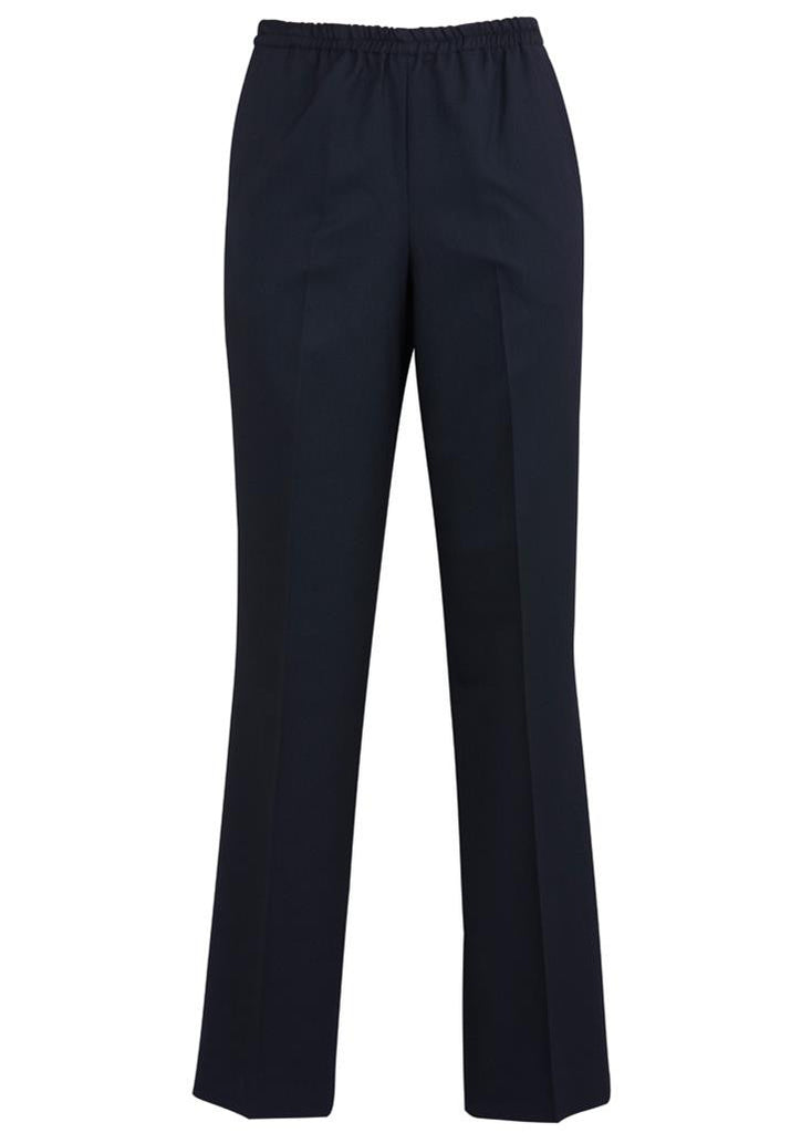 Biz Corporates-Biz Corporates Easy Fit Waist Pant - Straight Leg-Navy / 6-Corporate Apparel Online - 6