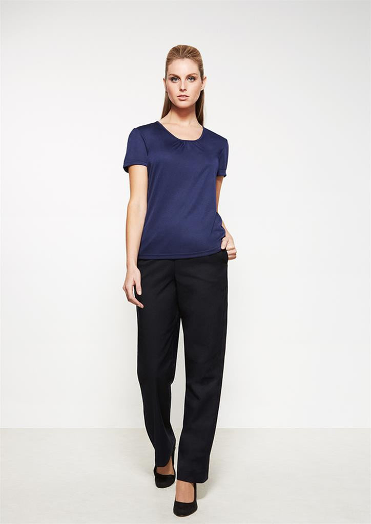 Biz Corporates-Biz Corporates Easy Fit Waist Pant - Straight Leg--Corporate Apparel Online - 1