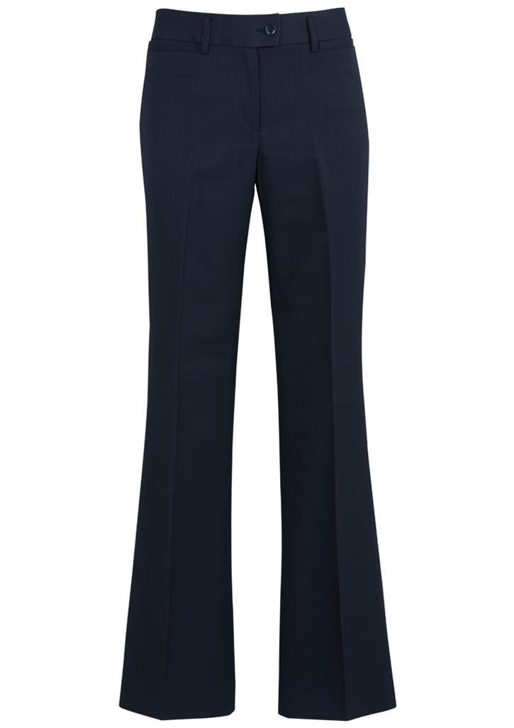 Biz Corporates Relaxed Fit Pant - Boot Leg