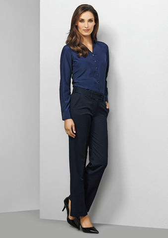 Biz Corporates-Biz Corporates Ladies Adjustable Waist Pant--Corporate Apparel Online - 1