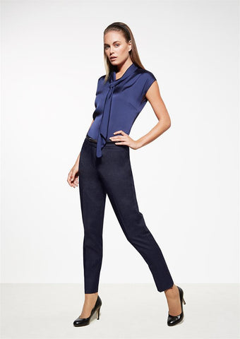 Biz Corporates-Biz Corporates Ladies Slim Leg Pant--Corporate Apparel Online - 1
