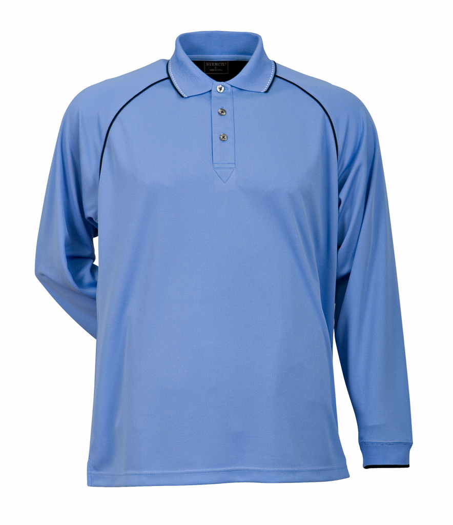 Stencil Men's Cool Dry Polo (1040)